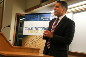 Judge Amul Thapar Speaks at NDLS Constitution Day